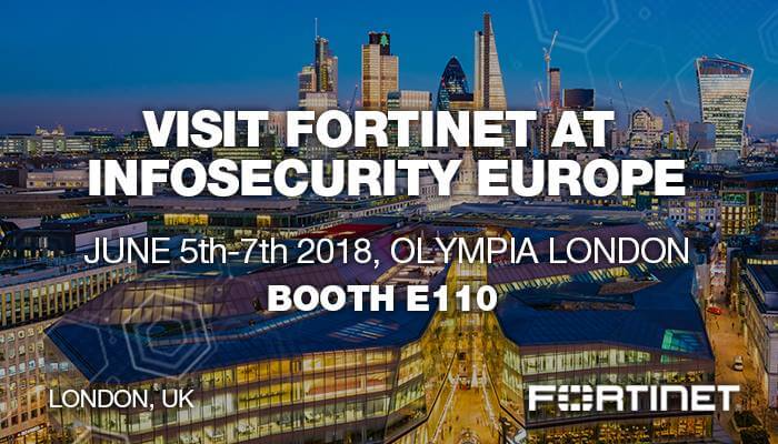 Fortinet at Infosecurity EMEA