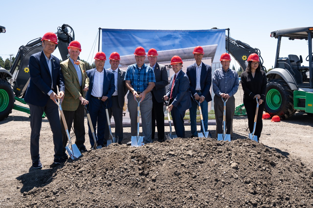 Fortinet HQ Groundbreaking