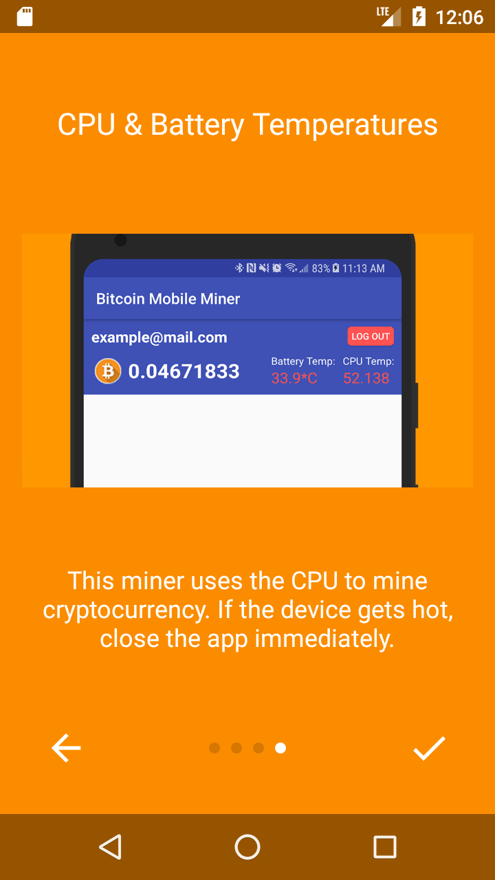 A Mobile Bitcoin Miner? Really?