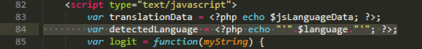 Code snippet of \mobile\index.php