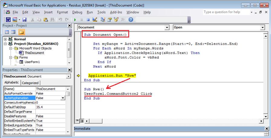 Figure 2.2. Built-in function Document_Open()