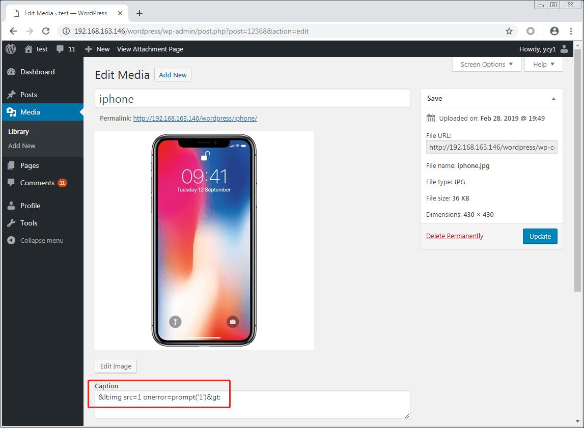 WordPress WooCommerce XSS Vulnerability – Hijacking a Customer