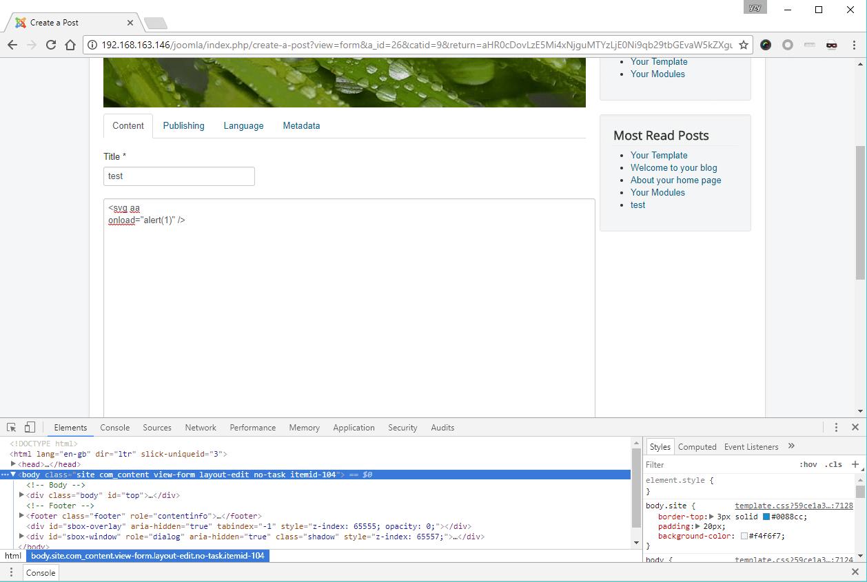 In plete Patch More Joomla Core XSS Vulnerabilities Are