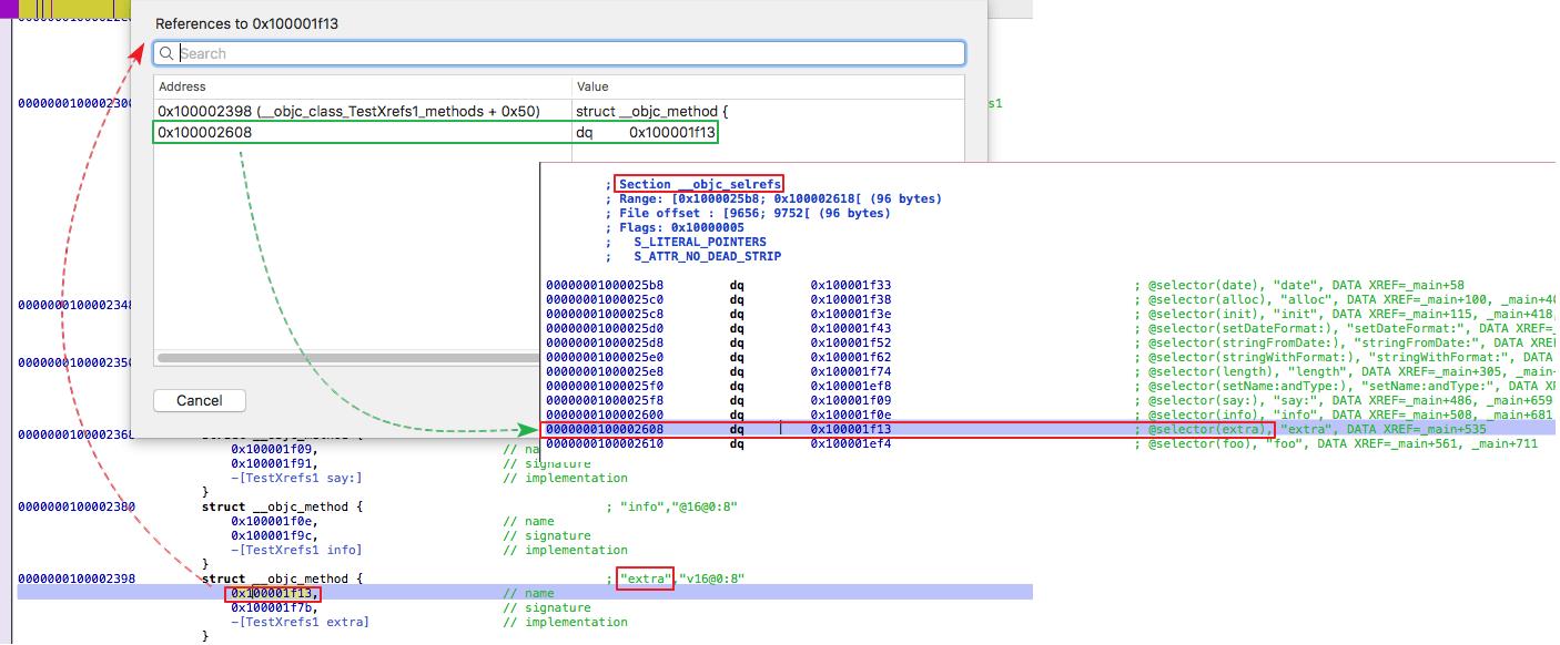 Rewriting IDAPython Script objc2_xrefs_helper py for Hopper