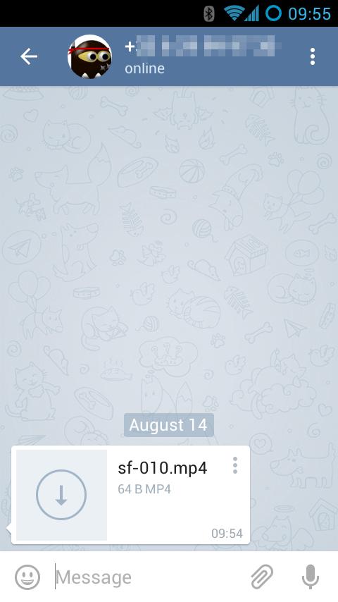 StageFright, Telegram Stage-Left & WhatsApp Stage-Right