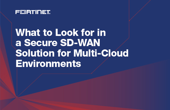 SD WAN for Multi Cloud