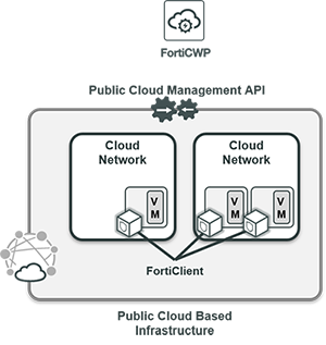 Cloud infrastructure visibility and control use case